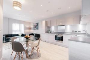 Vertex House living space