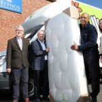 Hypnos teams up with school to make mattresses for charity