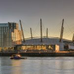 Opening of 40 serviced apartments in landmark tower beside London O2 Arena