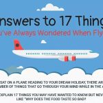 SilverDoor: everything you've ever wanted to know about flying – infographic