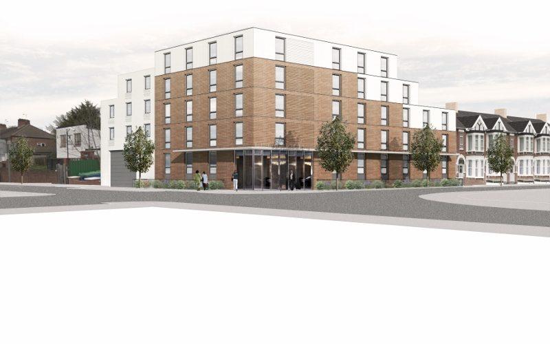 enhanced plans for approved aparthotel in wembley. Black Bedroom Furniture Sets. Home Design Ideas
