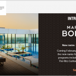 Marriott about to unite its three loyalty programmes under new flagship brand, Marriott Bonvoy