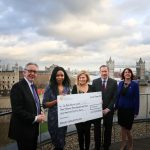 Cheval Three Quays donates to Royal British Legion centenary fundraiser