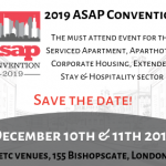 Save the date – ASAP 2019 Convention 10 & 11 December at etc venues