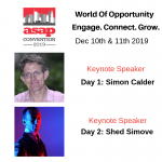 ASAP 2019 Serviced Apartment Convention: two days, two keynote speakers – twice as unmissable!