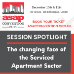 ASAP Convention Panel Session Spotlight: The Changing Face of the Serviced Apartment Sector