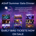 ASAP Summer Gala Dinner:  Early Bird Ticket Sales Launched