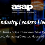 ASAP Industry Leaders Live  – James Foice interviews Trine Oestergaard of House of Fisher