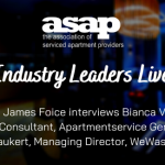 Industry Leaders Live: Bianca Vandersee, Senior Consultant at Apartmentservice Germany and Philip Laukart, Managing Director, WeWash GmbH.