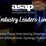Industry Leaders Live:  Stephen Hanton, President International, Synergy Global Housing