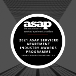 2021 ASAP Serviced Apartment Industry Awards Programme – sponsor opportunities launched