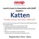 Lunch & Learn with Katten:  Registration now open