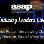 Industry Leaders Live: Claire Parry, Company Director, Week2Week Serviced Apartments